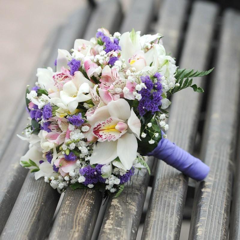 Свадебные букеты цветов и цена киев